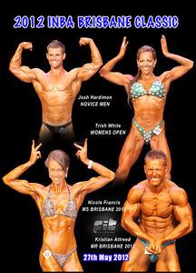 bodybuilding dvd 2012 I.N.B.A BRISBANE-