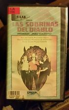 LAS SOBRINAS DEL DIABLO HERMOSAS PERO VIOLENTAS. CASTILLO. RARE SPANISH VIDEO.