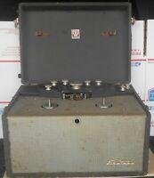 Rare Vintage Webster Electric Tube EkoTape 350 Reel to Reel Tape Recorder
