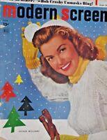 Modern Screen Magazine February 1949 Cover Shot: Esther Williams