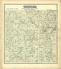 Richland County Wisconsin 1874 plat maps atlas old Genealogy history Dvd P56
