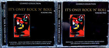 It's Only Rock N Roll 2 cd SET VOL 1/2 38 OLDIES THE CLASSICS COLLECTION NICE