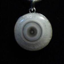 Anhänger, Silber 925 mit einem Solar Eye  Quarz aus Indien