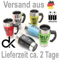 Selbstrührende Tasse Becher inkl. Batterien, Kaffeetasse, Kaffeebecher, Modell 2