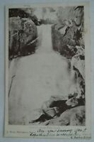 Faithful's Creek Falls Euroa Victoria Collectable Vintage Antiquarian Postcard.