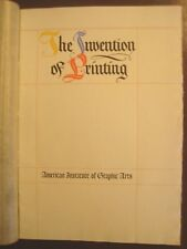 """""""The Invention of Printing"""" by Isaac Disraeli (1766-1848). Johannes Gutenberg"""