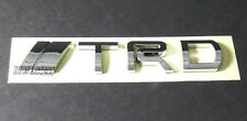 JDM Silver TRD Chrome Emblem Badge Decal Sticker Metal Trunk Hood 3D 5 x 1 in
