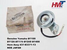 Yamaha DT100 DT125 DT175 DT250 DT400 Horn Assy 437-83371-13 NOS JAPAN