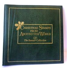 COMPLETE 1980 STAMPS CHRISTMAS ALBUM FROM AROUND THE WORLD SUMNER COLLECTION