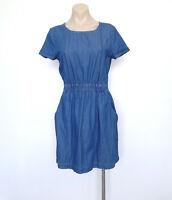OLIVER BONAS Size 8 Dress Denim Look