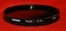 TAMRON 72mm C-PL polarizer filter no scratches,nice condition