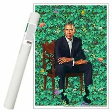 Official Smithsonian Barack Obama Kehinde Wiley National Picture Gallery Print
