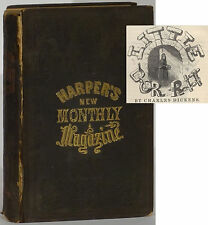 Dickens Little Dorrit first American publication in parts 1856 Harper's Monthly