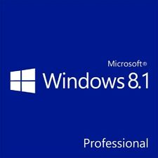 Windows 8.1 PRO Key 64 bit Product Activation Code via eMail Delivery