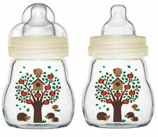 MAM Infant Baby Milk Drink Drinking Feel Good Glass Bottle 170ml