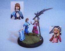 Anima Tactics painted miniature the Twins