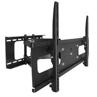 Full Motion LCD LED Articulating TV Wall Mount 50 55 60 65 70 75 78 80 85 88 90""