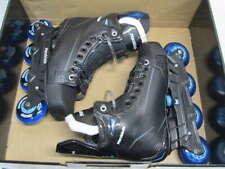Marsblade 01 Hockey Roller Blades Size 6D - Black/Blue