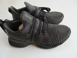 Adidas Alphabounce Instinct J D98170 Big kids black shoes sz 5Y 7Y Brand New