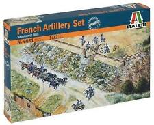 Italeri 1:72 6031: Francés artillerie-set - napoleonische GUERRA