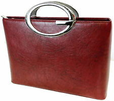 """NEW Women's Red Designer Purse - 9"""" Handbag - NEW WITH TAGS - CUTE"""