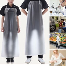 Waterproof Transparent PVC Apron For Kitchen Housework Restaurant Butcher Clean