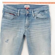 Mens Tommy Hilfiger SCANTON SLIM Stretch Straight Blue Jeans W31 L32