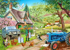The House Of Puzzles - 500 PIECE JIGSAW PUZZLE - Farm Fresh Unusual Pieces