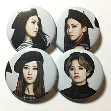 f(x) '4 Walls' Group Set Buttons KPop Victoria Luna Krystal Amber