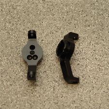 ST Racing ST8232BR Traxxas TRX-4 Brass Front Caster Blocks (Black) (2)