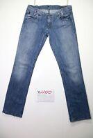 Lee lynn(Cod.Y1100)Tg.47 W33 L33 jeans vita bassa usato vintage