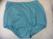 Vintage Maidenform Panties Antron Nylon Blue w/Lace Approximate Size 7