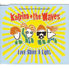 MAXI CD EUROVISION 1997 UK : Katrina & the Waves Love shine a light CD 1