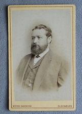 Foto Biedermeier Mobile Foto Herr con Barba, Oldenburg 1875 Foto Fotografia