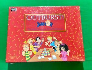 Sealed Unopened 1992 OUTBURST JUNIOR BOARD Game PARKER GAMES  Age 6 +