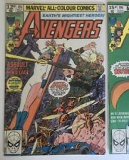 Avengers #195. 1st App Taskmaster Marvel 1980 Bronze Age