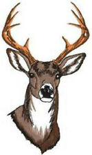 20 water slide nail art transfer buck deer nail  decals trending 3/8 inch