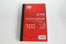 Pukka Pad Carbonless Duplicate Invoice Book 1 - 100 Numbered Pages