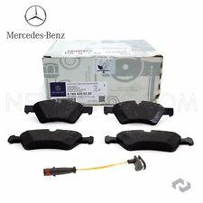 For Mercedes W164 W211 W251 X164 Front Disc Brake Pad Set w/ Sensor OES Set