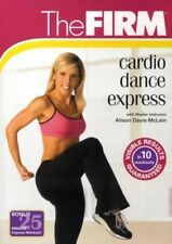 THE FIRM CARDIO DANCE EXPRESS / DANCE FUSION DVD NEW ALISON DAVIS WORKOUT NEW
