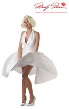 Marilyn Monroe Deluxe Movie Star Official Adult Halloween Costume Small