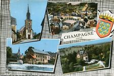 Carte CHAMPAGNE Sarthe Multivues