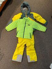 Boys Patagonia Ski Jacket, Pants And Extra Warm Jacket