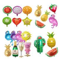 Lovely Party Decor Summer Theme Flamingo/Pineapple Fruits Foil Balloon Summer