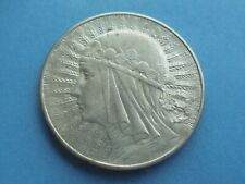 Poland, 5 Zlotych 1933 (Silver), Excellent Condition.