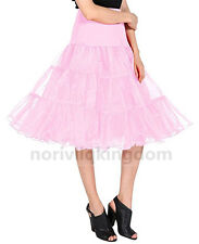 Womens Short Petticoat Tutu Dress Prom Skirt Retro Wedding Crinoline Party Slips