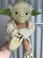 "Yoda Star Wars 18"" Jay Franco Plush Lucas Film Stuffed Animal With Robe And Hood"