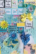 Junk Journal Kit, 100+Items New Papers & Vintage Book Pages, Ephemera, Cards