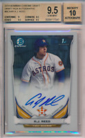 2014 1st Bowman Chrome Draft Pick Autograph A.J. Reed Rookie RC BGS 9.5 10 Auto