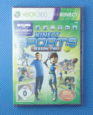 Kinect SPORTS: season Two (Microsoft XBOX 360, 2011, Dvd-Box) * NUOVO * * NEW *